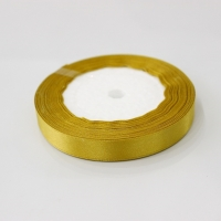 Лента атласная, золото, 12 мм (20м)