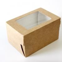 Коробка для капкейка 100*150*85мм
