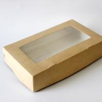 Коробка с окошком 120*40*200 мм