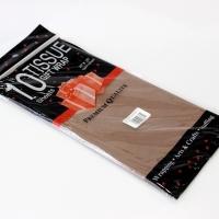 Бумага тишью, коричневая 10шт
