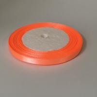 Лента атласная, персиковый, 6 мм (20м)