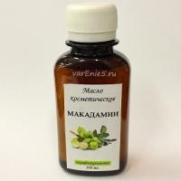 Масло макадамии, НЕрафинированное 100 мл