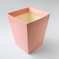 КАШПО_ трапеция картон (нежно персиковое)