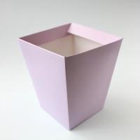 КАШПО_ трапеция картон (сиреневый)