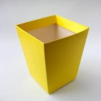 КАШПО_ трапеция картон (желтое)