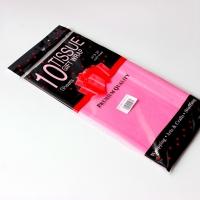 Бумага тишью, розовая 10шт