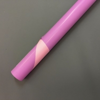 Пленка двухсторонняя розовая/сирень, рулон