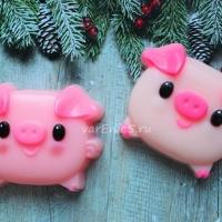 Готовое мыло Свинка
