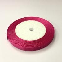 Лента атласная, цвет фуксия, 6 мм (20м)