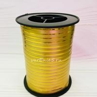 Лента упаковочная 0,5 см , 1 м (золото)
