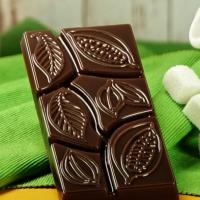 Пластиковая форма Какао дольки