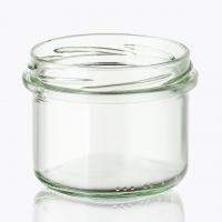 Баночка косметическая стекло, 100 мл (ровная)