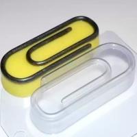 Пластиковая форма Скрепка