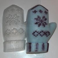Пластиковая форма Варежка