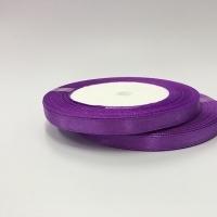 Лента атласная, лиловый, 6 мм (20м)