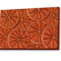 Пластиковая форма Текстурный лист Апельсин