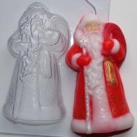 Пластиковая форма Дед мороз