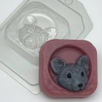 Пластиковая форма Мышь в норке