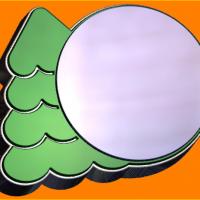 Пластиковая форма Новогодняя Открытка (БП)
