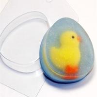 Пластиковая форма Яйцо плоское