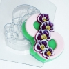 Пластиковая форма 8 Марта /орхидея