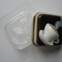 Пластиковая форма Горячая чашка