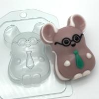 Пластиковая форма Мышь деловой