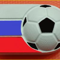 Пластиковая форма Футбол а России