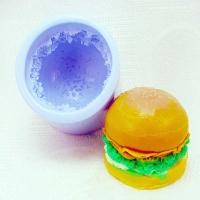 Силиконовая форма Гамбургер