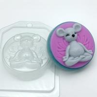 Пластиковая форма Йога -мышка