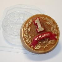 Пластиковая форма Медаль Чемпион