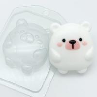 Пластиковая форма Мишка мультяшный