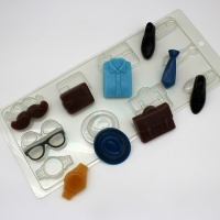 Пластиковая форма Ассорти/Мужской набор