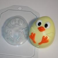 Пластиковая форма Цыпленок мультяшный