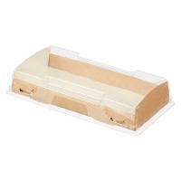 Коробка 20*10*4см с прозрачной крышкой