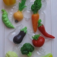 Пластиковая форма Овощное ассорти