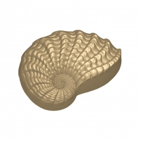 Пластиковая форма Морская раковина
