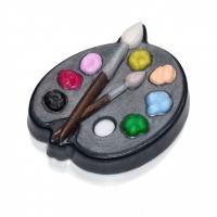 Пластиковая форма Палитра с красками