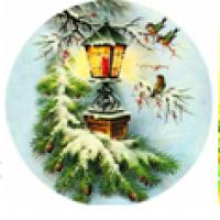 Водорастворимые картинки Рождество