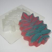 Пластиковая форма Лист/рябина