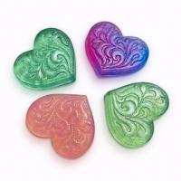 Пластиковая форма Сердце декоративное мини