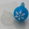 Пластиковая форма Шар/снежинка 2