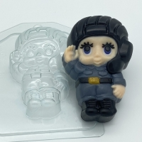 Пластиковая форма Малыш/Танкист