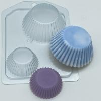 Пластиковая форма Тарталетки ребристые