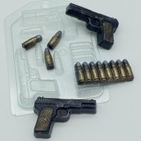 Пластиковая форма Пистолет ТТ МИНИ