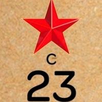 Бирка 23 февраля крафт, 10шт