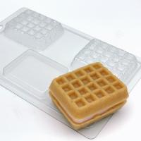 Пластиковая форма Вафля венская