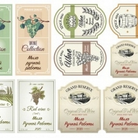 Наклейки Этикетки для вина