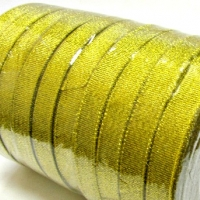 Лента металлизированная, золото , 12 мм (20м)