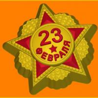 Пластиковая форма Звезда 23